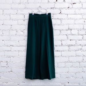 🟢ZARA Green Wide Leg Pants 🟢